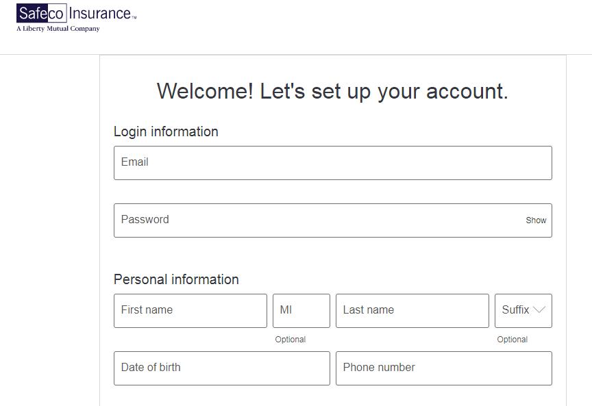 create account safeco